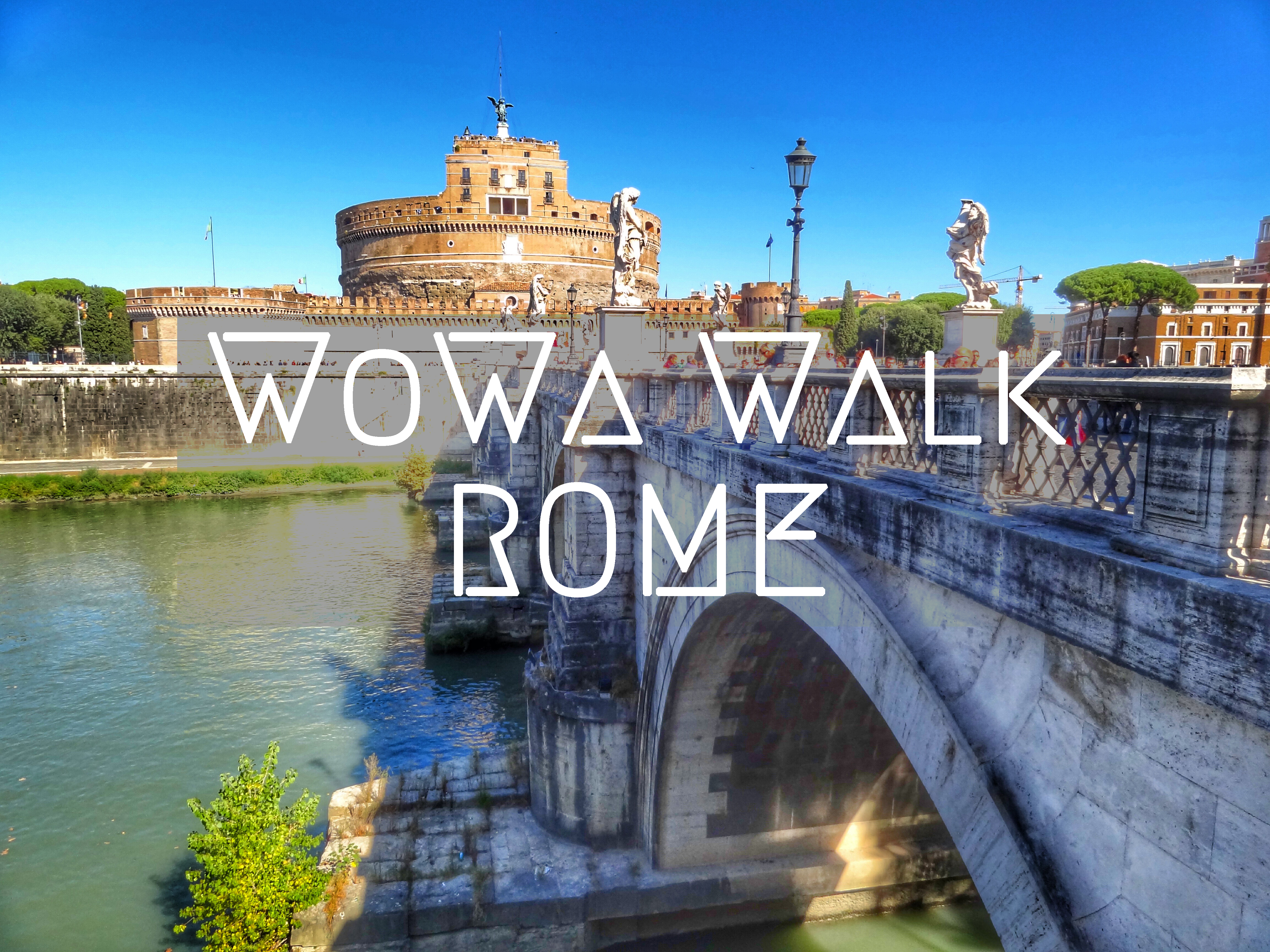 What To Do When Only One Day In Rome Walking Map World