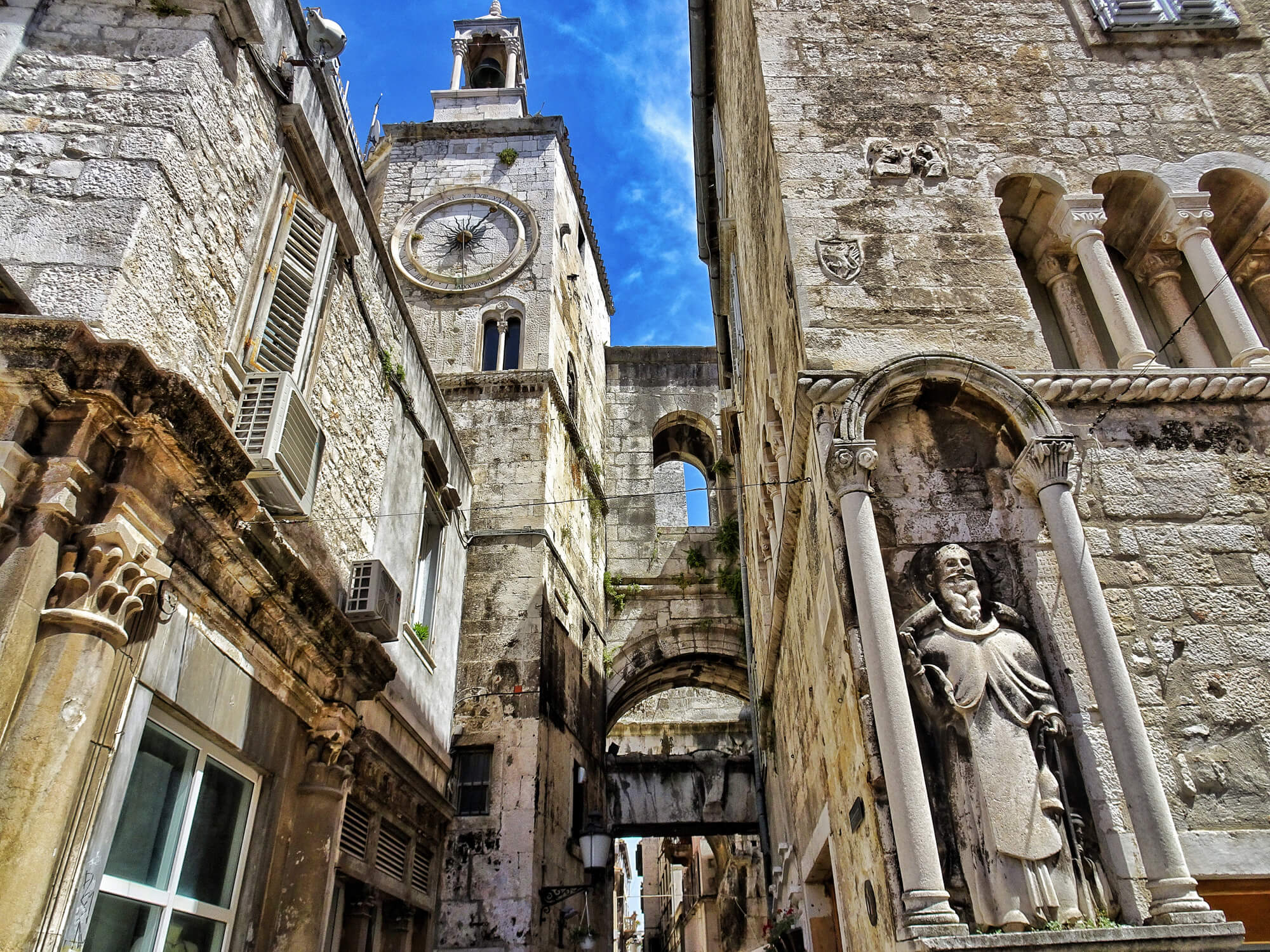 Diocletian S Palace In Split Spark Your Wanderlust With