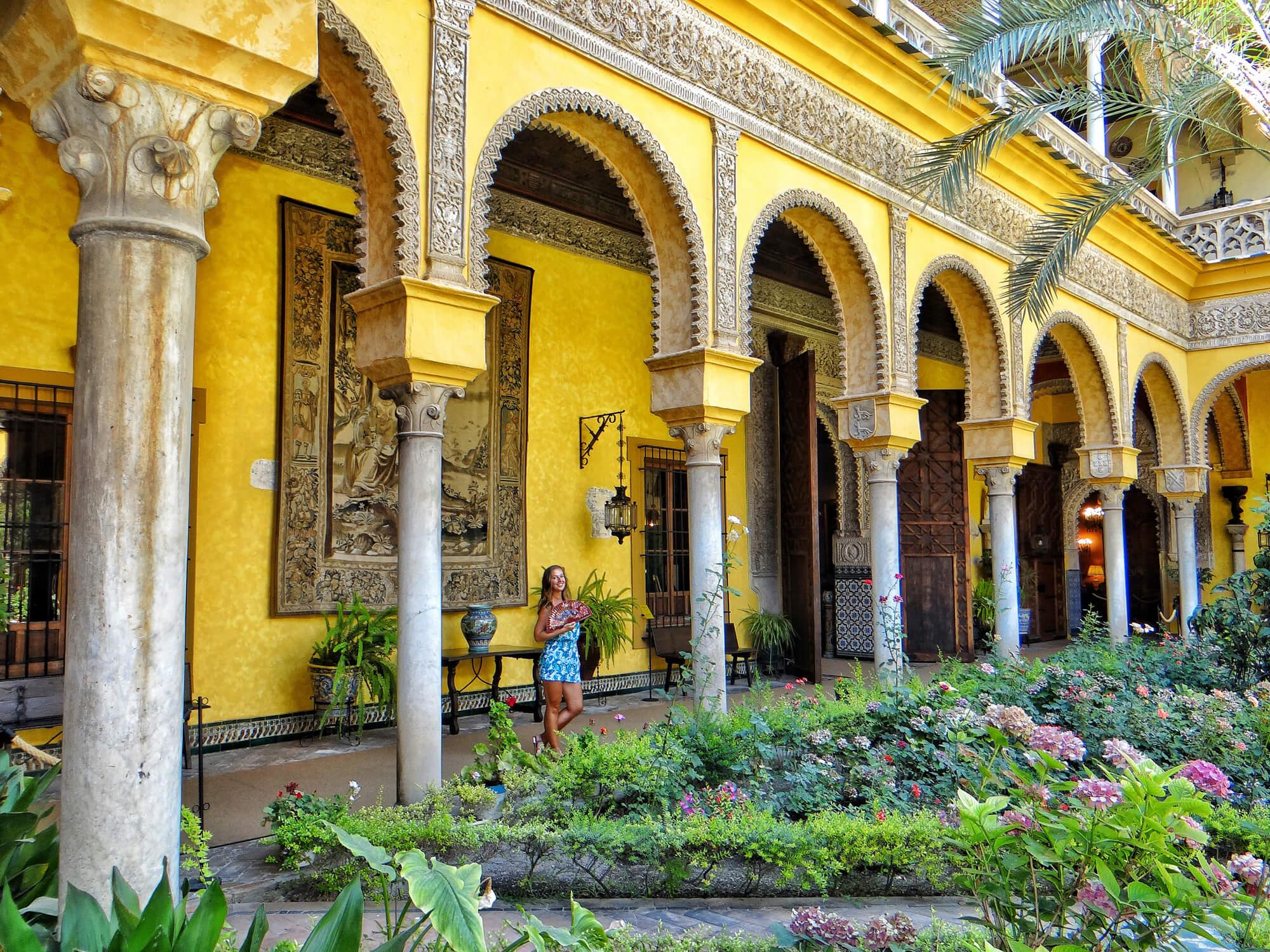 Video sevilla vlog 3 real alcazar casa de las duenas for Alquiler casa en umbrete sevilla